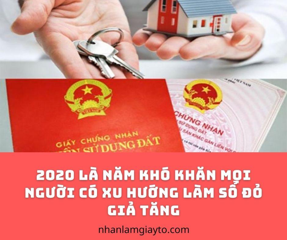 làm sổ đỏ giả 2020 tại nhanlamgiayto.com